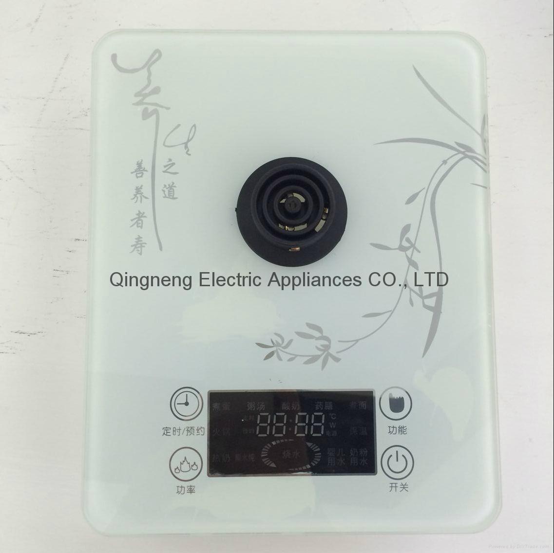 Cordless Electric Glass Health Pot 2