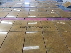 Yellow Marble Tiles (Cut To Sizes) - Golden Marble