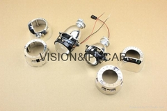 Universal Refit Super Mini Projector Lens H1 Bulb into H4 H7 H11 Auto/Moto Light