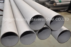 Stainless steel railing astm a312 tp316 welded stainless steel pipe