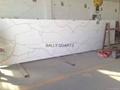 Calacatta Quartz stone slabs Carrara