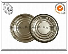 401 99 mm tinplate bottom end cap food grade tinplate normal end