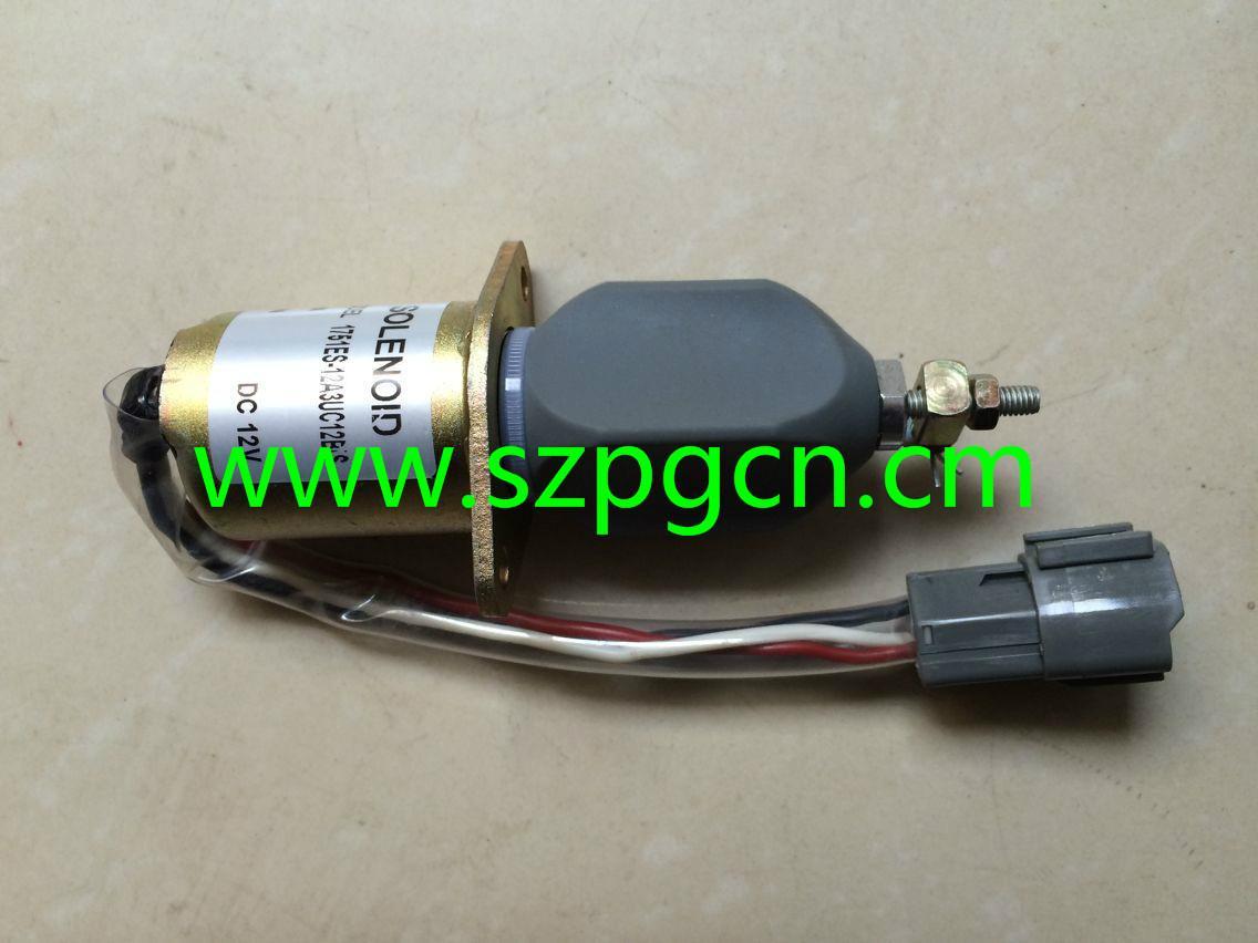 1751ES-12A3UC12B1S 12V Stop Solenoid for Diesel Engine 1