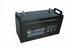 利虎厂家直销太阳能路灯专用12V100AH免维护铅酸蓄电池