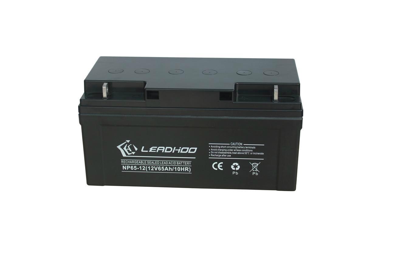 利虎廠家供應UPS不間斷電源專用12V65AH免維護鉛酸蓄電池 1