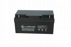 利虎厂家供应UPS不间断电源专用12V65AH免维护铅酸蓄电池