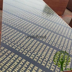 Yelintong good quality film faced plywood WBP glue more than 12 times reused