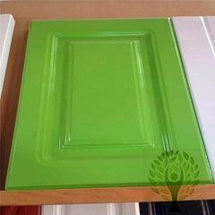 Yelintong good quality PVC plastic uptake cabinet door panel good price