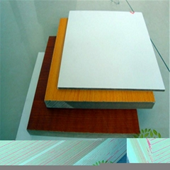 Yelintong good price melamine paper faced mdf board any color for choosing