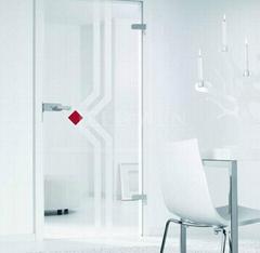 interior glass swing door