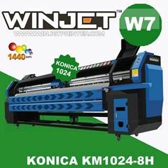 konica solvent printer Vinyl Banner/Mesh Banner  Banner Digital W7 flex printer