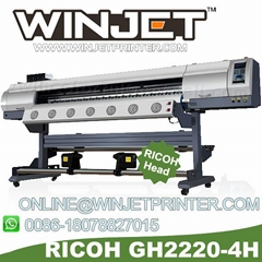 Ricoh eco solvent printer with Ricoh GH2220 printhead eco solvent printing machi