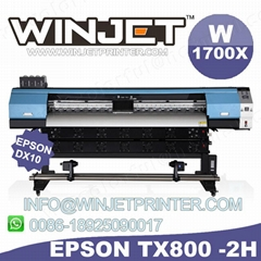 cheap digital pen printer dx7 head eco solvent printer W1700x large format