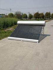 non pressurized solar wa