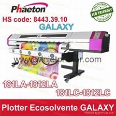 dx5 printhead  eco solvent flatbed printer galaxy eco solvent printer 1.8m