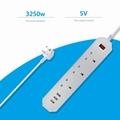 uk multi-function socket with usb ports