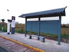河北公交候车亭