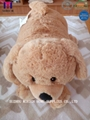 Dog Design Baby Doll Knitted Blanket