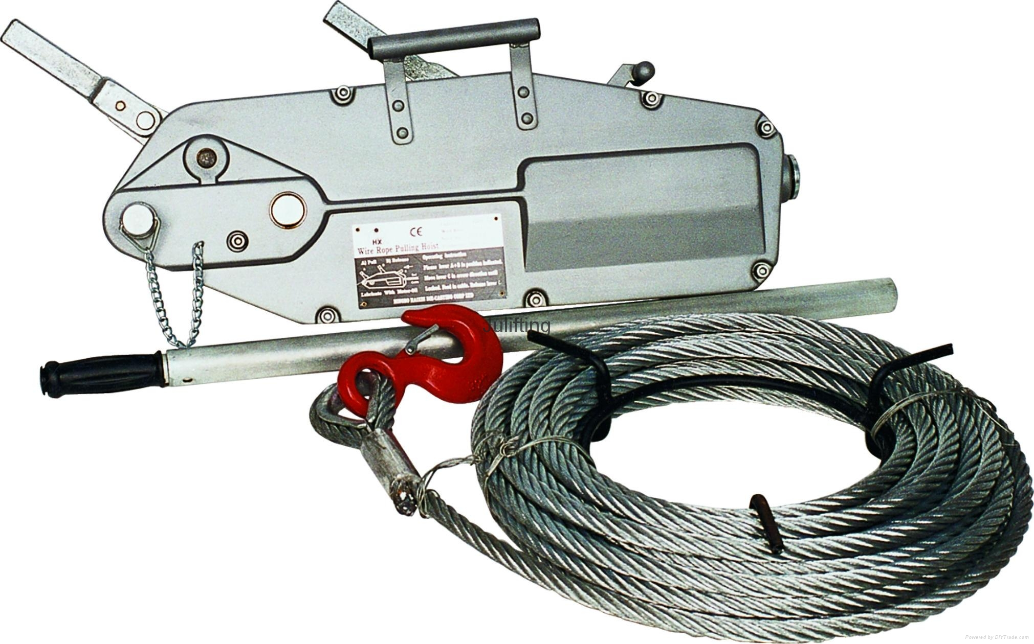 Wire Rope Pulling Hoist with Aluminium Body 0.8t-5.4t - HB - as ...