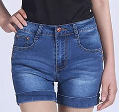 廠家低價批發2016夏款女裝韓版修身顯瘦牛仔褲