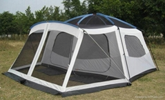 Professional large luxury traveling camping tent