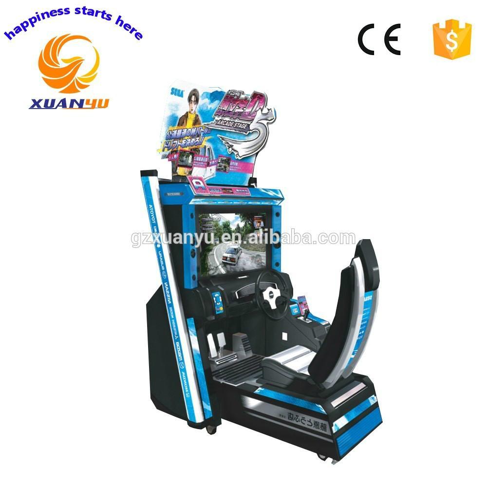 Xuanyu race car arcade machine 3d car driving training