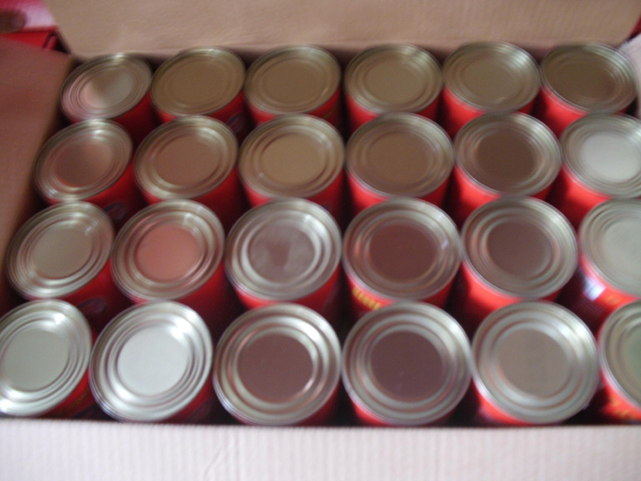 Canned Tomato Paste 5