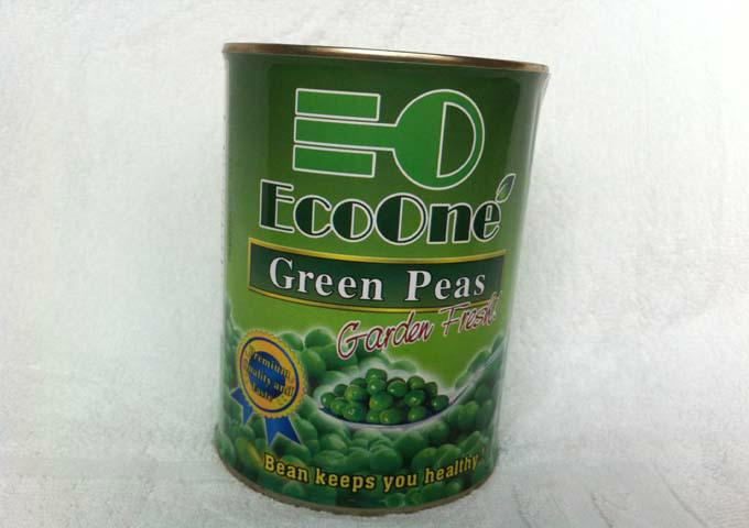 Canned Green peas 1