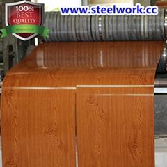New Product Wooden Grain Pattern Steel Coil Sheet
