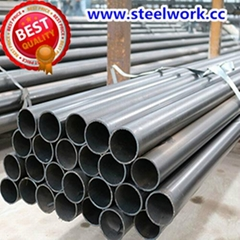 ERW  Welded Round Carbon Steel Tube & Pipe