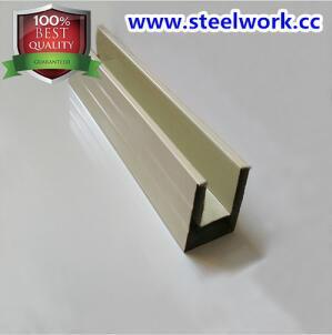 Color Coated Guide Slot Steel Channel for Roller Shutter Doo 1