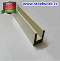 Color Coated Guide Slot Steel Channel