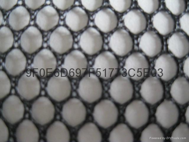 六角網眼布 1