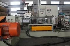 低煙無鹵pvc電纜料造粒機