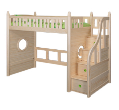 Original color loft bed with staircase 2