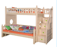 Original color bunk bed with staircase 1