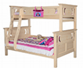 Original color bunk bed with ladders
