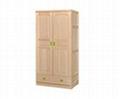 Original color 2-door 1-drawer cabinet