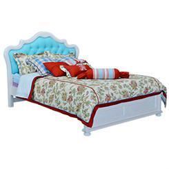 Kids pine wood bed 1