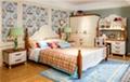 Kids pine wood single bed 2