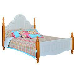 Kids pine wood single bed 1