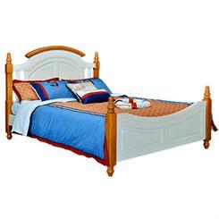 Kids pine wood single beds 1
