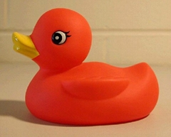 Soft Stress Plastic PU inflatable water ducks Kids Toy China Factory