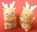 Mini Soft stress ocean China factory PU foam plastic toy 5