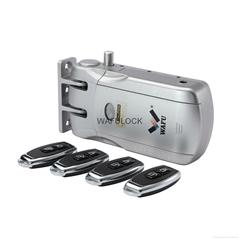 WAFU Wireless Remote Control Lock Invisible Remote Lock with 4 Keys