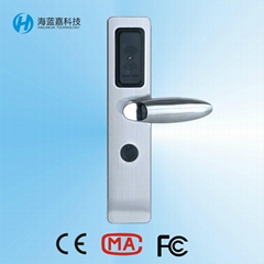 Top quality security hotel room lock hack with card lock systems H001Z51-Y