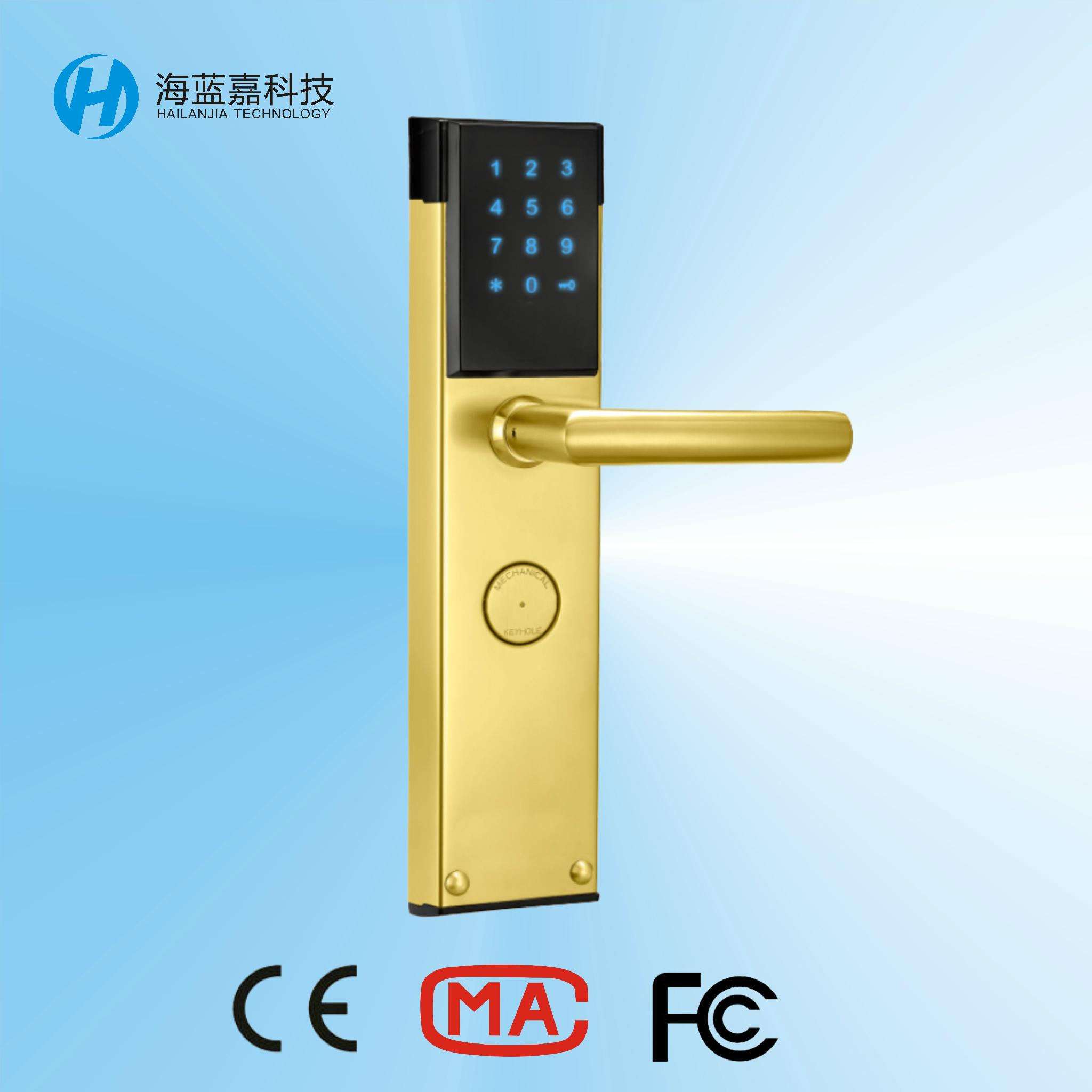 Best quality latest digital security door locks with high for Best quality door hardware