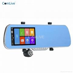"""5.0"""" full HD1080P android GPS car camera recorder"""