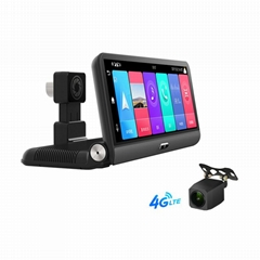 Phisung P03 8inch android 8.1 2+32G dashboard car camera with GPS navigation wif