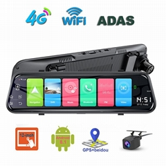 Phisung Z55 10inch android 8.1 2+16G mirror car video recorder WIFI bluetooth 4